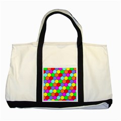 Hexagonal Tiling Two Tone Tote Bag by AnjaniArt