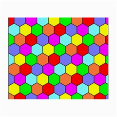Hexagonal Tiling Small Glasses Cloth (2 Side) by AnjaniArt