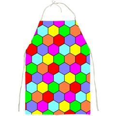 Hexagonal Tiling Full Print Aprons by AnjaniArt