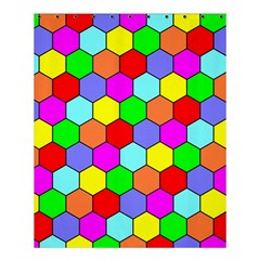 Hexagonal Tiling Shower Curtain 60  X 72  (medium)  by AnjaniArt