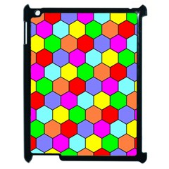Hexagonal Tiling Apple Ipad 2 Case (black) by AnjaniArt