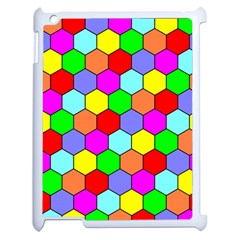 Hexagonal Tiling Apple Ipad 2 Case (white) by AnjaniArt