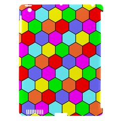Hexagonal Tiling Apple Ipad 3/4 Hardshell Case (compatible With Smart Cover) by AnjaniArt