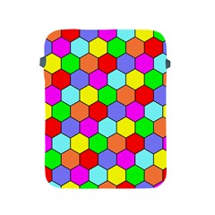 Hexagonal Tiling Apple Ipad 2/3/4 Protective Soft Cases by AnjaniArt