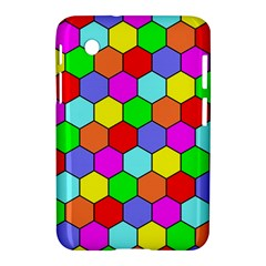 Hexagonal Tiling Samsung Galaxy Tab 2 (7 ) P3100 Hardshell Case  by AnjaniArt