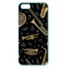 Instrument Saxophone Jazz Apple Seamless Iphone 5 Case (color)