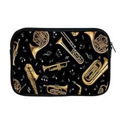 Instrument Saxophone Jazz Apple Macbook Pro 17  Zipper Case