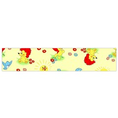 Lion Animals Sun Flano Scarf (small) by AnjaniArt