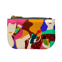 Girl Colorful Copy Mini Coin Purses by AnjaniArt
