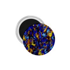 Network Blue Color Abstraction 1 75  Magnets by AnjaniArt