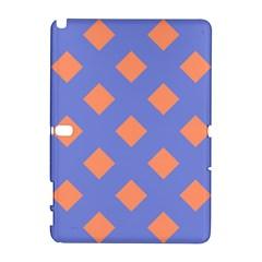 Orange Blue Galaxy Note 1 by AnjaniArt