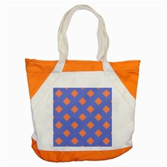 Orange Blue Accent Tote Bag by AnjaniArt