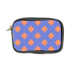 Orange Blue Coin Purse by AnjaniArt