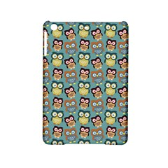 Owl Eye Blue Bird Copy Ipad Mini 2 Hardshell Cases by AnjaniArt