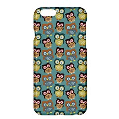 Owl Eye Blue Bird Copy Apple Iphone 6 Plus/6s Plus Hardshell Case by AnjaniArt