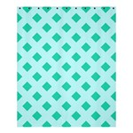 Plaid Blue Box Shower Curtain 60  x 72  (Medium)  54.25 x65.71 Curtain