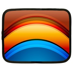 Rainbow Color Netbook Case (large) by AnjaniArt