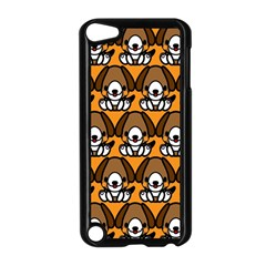 Sitbeagle Dog Orange Apple Ipod Touch 5 Case (black) by AnjaniArt