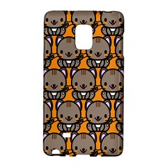 Sitcat Orange Brown Galaxy Note Edge by AnjaniArt