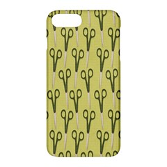 Scissor Apple iPhone 7 Plus Hardshell Case by AnjaniArt