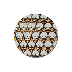 Sitpersian Cat Orange Magnet 3  (round) by AnjaniArt