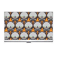 Sitpersian Cat Orange Business Card Holders by AnjaniArt