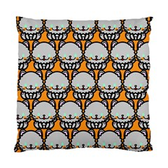 Sitpersian Cat Orange Standard Cushion Case (two Sides) by AnjaniArt
