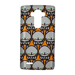 Sitpersian Cat Orange Lg G4 Hardshell Case by AnjaniArt