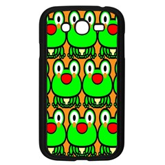 Sitfrog Orange Face Green Frog Copy Samsung Galaxy Grand Duos I9082 Case (black) by AnjaniArt