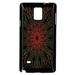 Sun Samsung Galaxy Note 4 Case (Black) by AnjaniArt