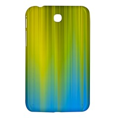 Yellow Blue Green Samsung Galaxy Tab 3 (7 ) P3200 Hardshell Case  by AnjaniArt