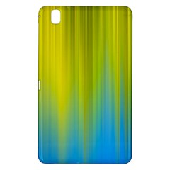Yellow Blue Green Samsung Galaxy Tab Pro 8 4 Hardshell Case by AnjaniArt