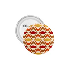 Wave Orange Red Yellow Rainbow 1 75  Buttons by AnjaniArt