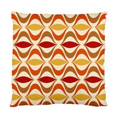 Wave Orange Red Yellow Rainbow Standard Cushion Case (two Sides) by AnjaniArt