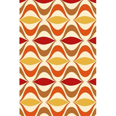 Wave Orange Red Yellow Rainbow 5 5  X 8 5  Notebooks by AnjaniArt