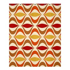 Wave Orange Red Yellow Rainbow Shower Curtain 60  X 72  (medium)  by AnjaniArt