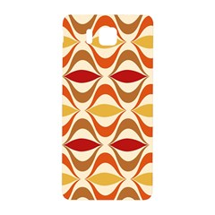 Wave Orange Red Yellow Rainbow Samsung Galaxy Alpha Hardshell Back Case by AnjaniArt