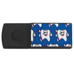 Tooth Usb Flash Drive Rectangular (4 Gb)  by AnjaniArt