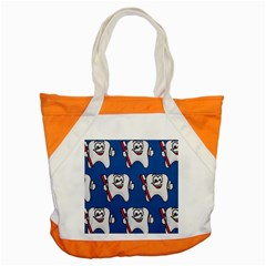 Tooth Accent Tote Bag