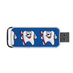 Tooth Portable Usb Flash (two Sides) by AnjaniArt