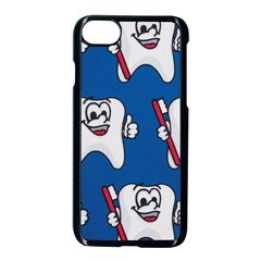Tooth Apple Iphone 7 Seamless Case (black) by AnjaniArt