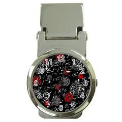 Red Mind Money Clip Watches by Valentinaart