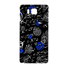 Blue Mind Samsung Galaxy Alpha Hardshell Back Case by Valentinaart