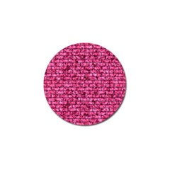 Brick1 Black Marble & Pink Marble (r) Golf Ball Marker (4 Pack) by trendistuff