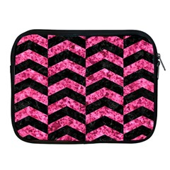 CHV2 BK-PK MARBLE Apple iPad 2/3/4 Zipper Cases
