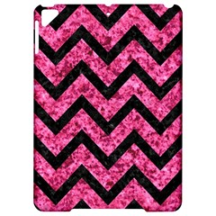 Chevron9 Black Marble & Pink Marble (r) Apple Ipad Pro 9 7   Hardshell Case by trendistuff