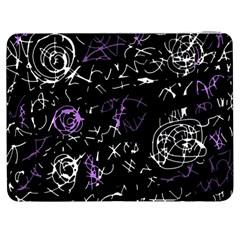 Abstract Mind   Purple Samsung Galaxy Tab 7  P1000 Flip Case by Valentinaart
