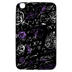 Abstract Mind   Purple Samsung Galaxy Tab 3 (8 ) T3100 Hardshell Case  by Valentinaart