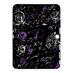 Abstract Mind   Purple Samsung Galaxy Tab 4 (10 1 ) Hardshell Case  by Valentinaart