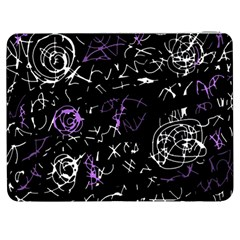 Abstract Mind   Purple Samsung Galaxy Tab 7  P1000 Flip Case by Valentinaart